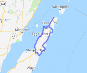 The Door County Peninsula Loop |  Wisconsin