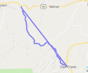20 Mile Road - Oak Creek to Hayden on CR 27 |  Colorado