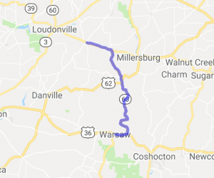 Route 60 Nashville to Warsaw |  Ohio