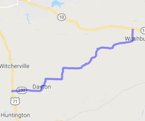 Dayton to Washburn on HWY 252 |  Arkansas