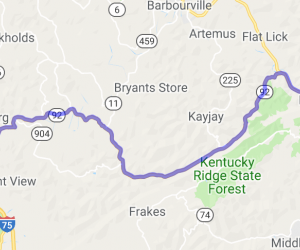 State Route 92 |  Kentucky