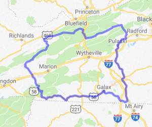 Claw of the Dragon - Outer Loop |  Virginia