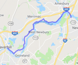 Merrimack River Ride |  Massachusetts