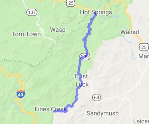The Rattler - 25 miles - 290 turns - 2 mountains |  North Carolina