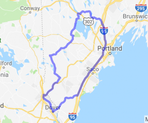 The Dover, NH to Poland, ME Loop |  Maine