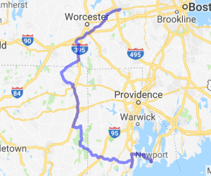 Tri-State Country Tour (MA, CT, RI) |  Rhode Island