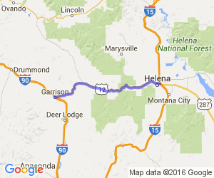 50 Miles of Bliss - Garrision to Helena, MT |  Montana
