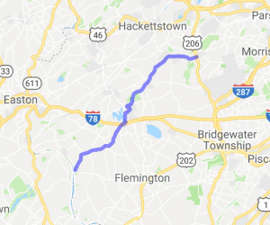 Chester to Frenchtown |  New Jersey
