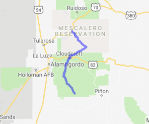 The Road to Timberon |  New Mexico