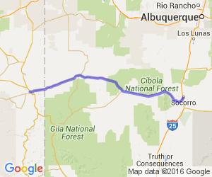 US 60 - Socorro to Springerville |  New Mexico