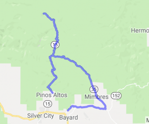 Trail of the Mountain Spirits Byway (Big Loop for the locals) |  New Mexico