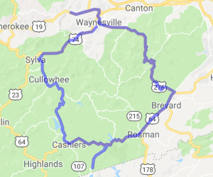 Full Day of North Carolina Twisties Loop |  North Carolina