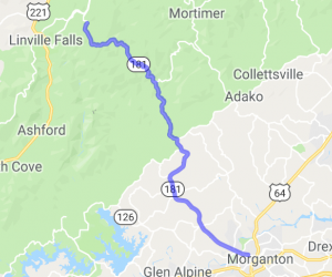 Route 181 - Joanas Ridge to Morganton |  North Carolina