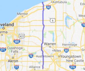 Back roads ride to Geneva on the Lake |  Ohio