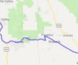 Moab, UT to Nucla, CO |  Utah