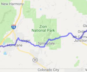 Highway 9 - Zion Canyon |  Utah