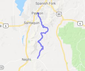 Mt. Nebo Loop Road Run |  Utah