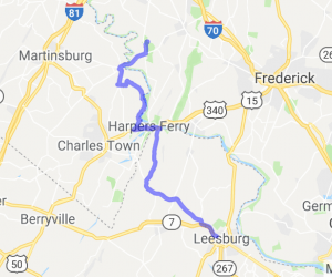 Leesburg VA to Antietam National Battlefield MD |  Virginia