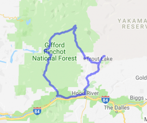 Columbia Gorge Forest Loop    Washington