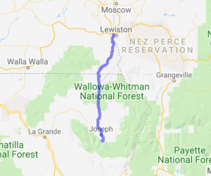 Rattlesnake Pass to Wallowa Lake |  Idaho