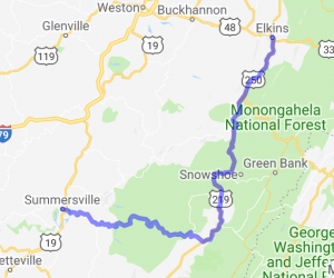 US 219 Elkins to Summerville |  West Virginia
