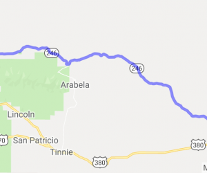 Hwy 246 - Roswell to Capitan |  New Mexico