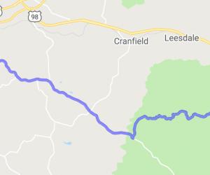 Natchez to Homochitto National Forest    Mississippi