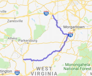 200-Mile West Virginia Twisties Tour |  West Virginia