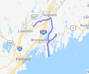 Central Maine to Popham |  Maine