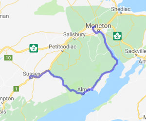 Great Days Run (New Brunswick, Canada) |  Canada