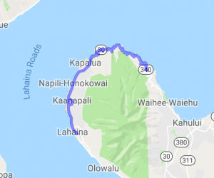 Circumnavigate west Maui - hwy 30/340 |  Hawaii