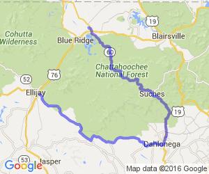 Chattahoochee National Forest Tour |  Georgia
