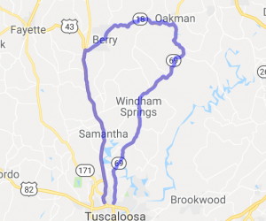 North Tuscaloosa County Loop |  Alabama