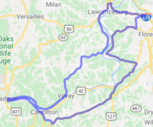 Big Lick Ride/Ohio River hugging loop |  Kentucky