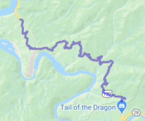 "Deal's Gap (AKA ""The Dragon"" or ""Tail of the Dragon"") 