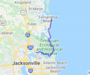 Beautiful Ride From Jacksonville to Fernandina Beach |  Florida