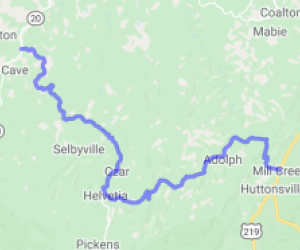 Helvetia Road |  West Virginia