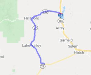 Hillsboro Haunted Highway |  New Mexico