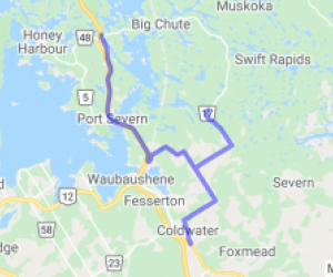 Upper Big Chute Road (Ontario, Canada) |  Canada