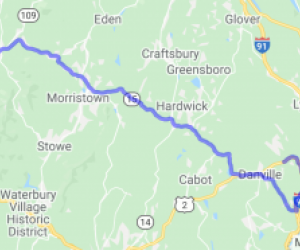 Northern Vernont Tour Along Route 15 |  Vermont