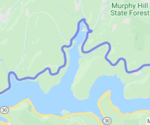 North Shore of Pepacton Reservoir Ride |  New York