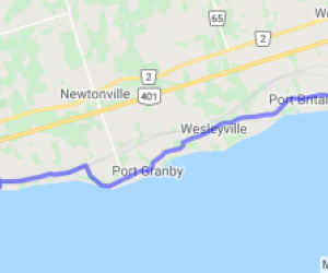 Lakeshore Rd. Near Port Hope (Ontario, Canada) |  Canada