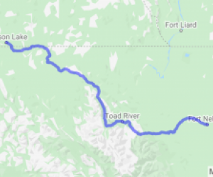 Alaska Highway Ft. Nelson to Watson Lake (British Columbia, Canada) |  Canada