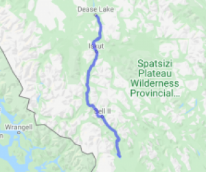 Cassiar Highway Meziadin Junction to Dease Lake (British Columbia, Canada) |  Canada