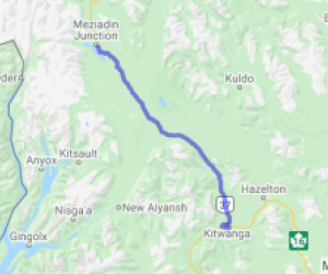 Cassiar Highway Kitwanga to Meziadin Junction (British Columbia, Canada) |  Canada