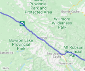 Yellowhead Highway 16  Prince George to Hinton AB (British Columbia, Canada) |  Canada