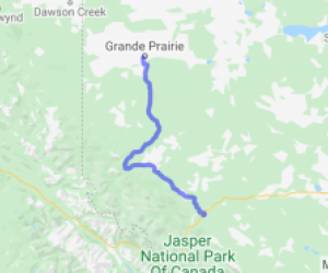 The Bighorn Route (Alberta, Canada) |  Canada