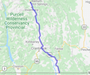 Kootenay Highway Rt.93 (British Columbia, Canada) |  Canada