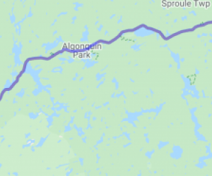 Hwy 60 through Algonquin Park (Ontario, Canada) |  Canada