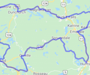 Parry Sound/Huntsville Area Route (Ontario, Canada) |  Canada